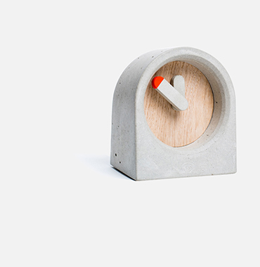 concrete-clock
